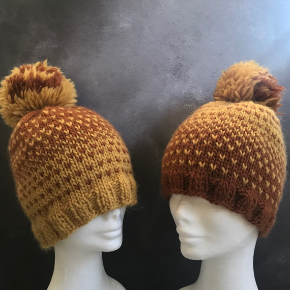 Knits for Two Chunky Hats