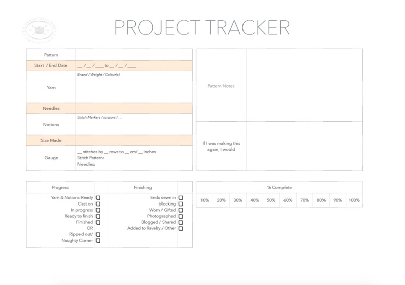 Our updated Project Tracker